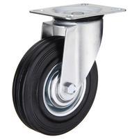 Колесо для тележки поворотное SC 200 без тормоза 200 мм