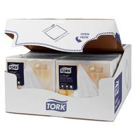 Салфетки бумажные Tork LinStyle Premium 478711 39x39 см белые 1-слойные  50 штук в упаковке