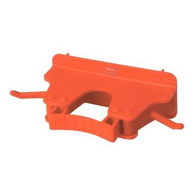 Держатель для уборочного инвентаря настенный Vikan пластик красный (длина 160 мм)