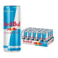 Напиток энергетический Red Bull без сахара 0.25 л (24 штуки в упаковке)