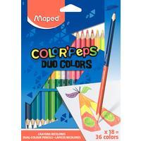 Карандаши цветные Maped Color'peps 36 цветов (двусторонние) трехгранные