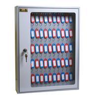 Шкаф для ключей Klesto SKB-65 серый (на 65 ключей, металл)