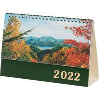 Календарь-домик на 2022 год Сувенир Пейзажи России настольный 210х140 мм