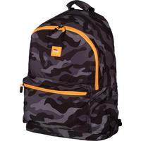 Рюкзак школьный Milan Black Camouflage черный