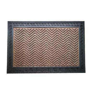 Коврик влаговпитывающий Индия коричневый (50x80 см)