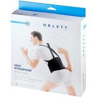 Корсет ортопедический Orlett IBS-2004 черный размер ХL