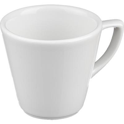 Чашка кофейная Башкирский фарфор Мокко белая 75мл (артикул производителя ИЧФ 24.75)