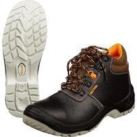 Ботинки Мистраль Ultra натуральная кожа черные размер 44