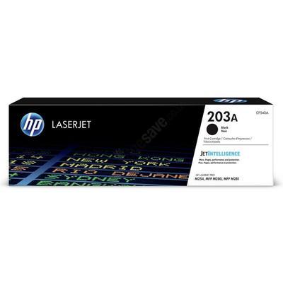 Картридж лазерный HP 203A CF540A черный оригинальный