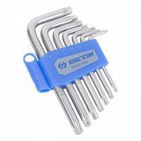 Набор ключей King Tony Г-образных Torx T10-T40 с отверстием 7 предметов (20407PR)