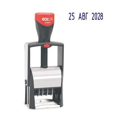Датер автоматический металлический Colop S2100/4 (шрифт 4 мм)