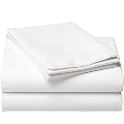 Простыня 180х210 см 120 г/кв.м белая перкаль (10 штук в упаковке)