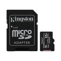 Карта памяти 64 Гб microSDXC Kingston Canvas Select Plus UHS-I U1 10 A1 (SDCS2/64Gb)