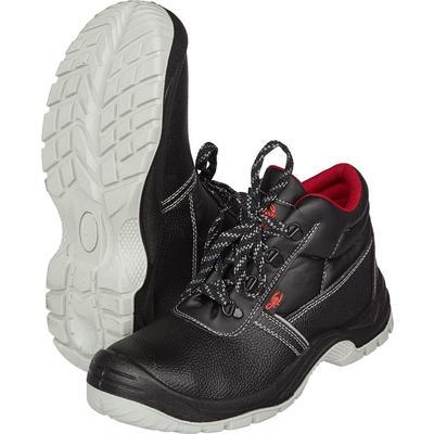 Ботинки утепленные Original 1201.1М натуральная кожа черные с металлическим подноском размер 45