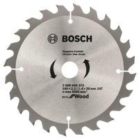 Диск пильный Bosch Eco wood 160х20/16 мм Z24 (2608644373)