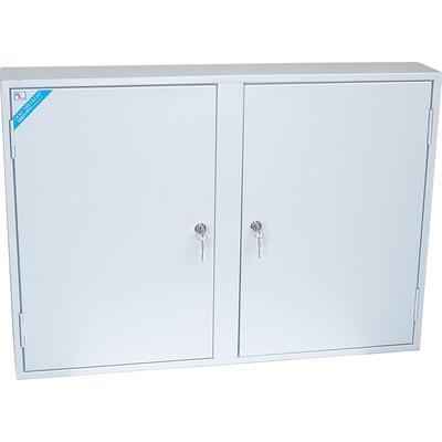 Шкаф для ключей КЛ-340 светло-серый (824х130х580 мм)