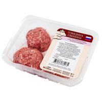 Котлеты из говядины и свинины охлажденные ВкусВилл Домашние 400 г