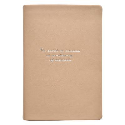 Ежедневник креативный полудатированный Infolio Quote искусственная кожа  А5 160 листов оранжевый