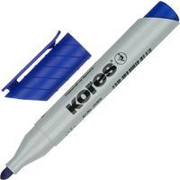 Маркер для бумаги для флипчартов Kores XF1 синий (толщина линии 3 мм)  круглый наконечник