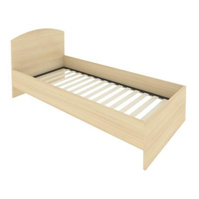 Кровать с изголовьем Light С-КИ-90 (акация, 950х2050х900 мм)