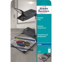 Пленка для проекторов Avery Zweckform AZ2503 прозрачная А4 (10 листов, артикул производителя AZ2503)