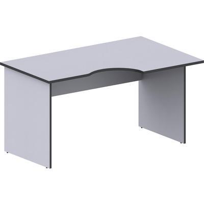 Стол эргономичный Агат АСС-33 правый серый (1400x900x750 мм)