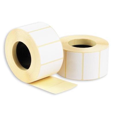 Термоэтикетки 43x25 мм ЭКО без печати (60 рулонов по 1000 этикеток)