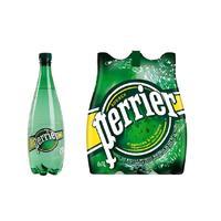 Вода минеральная Perrier газированная 1 л (6 штук в упаковке)