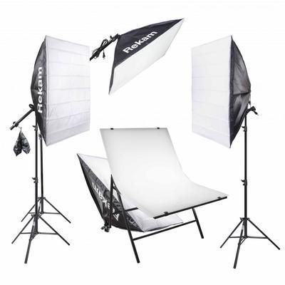 Комплект осветителей Rekam CL-700-SB Boom Macro Kit
