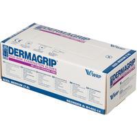 Перчатки медицинские смотровые латексные Dermagrip High Risk нестерильные неопудренные размер M (50 штук в упаковке)