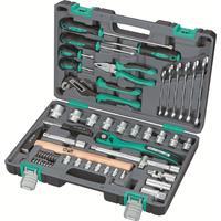 Набор инструмента Stels 58 предметов (1/2, CrV, S2, усиленный кейс, артикул поставщика 14113)