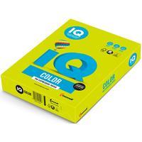 Бумага цветная для печати IQ Color зеленая неон NEOGN (А4, 80 г/кв.м, 500 листов)