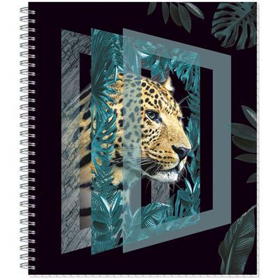 Тетрадь общая №1 School Леопард А5 80 листов в клетку на спирали