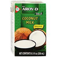 Молоко Aroy-D Кокосовое стерилизованное 17-19% 0.25 л