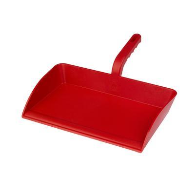 Совок Hillbrush 308x304 мм красный