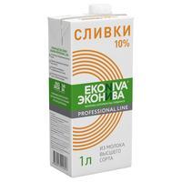 Сливки ЭкоНива Professional Line 10% 1000 г