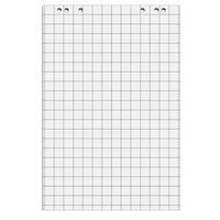 Бумага для флипчартов Attache 67.5х98 см белая 20 листов в клетку (80 г/кв.м, 5 блоков в упаковке)