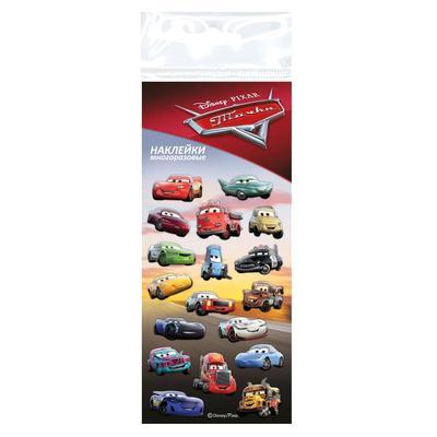 Наклейка декоративная Disney Тачки 70x160 мм