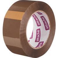 Клейкая лента упаковочная Attache коричневая 48 мм x 132 м толщина 45 мкм
