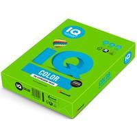 Бумага цветная для печати IQ Color зеленая интенсив MA42 (А4, 80 г/кв.м, 500 листов)