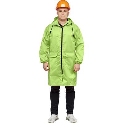 Плащ-дождевик влагозащитный светло-зеленый (размер 60-62, рост 170-176)