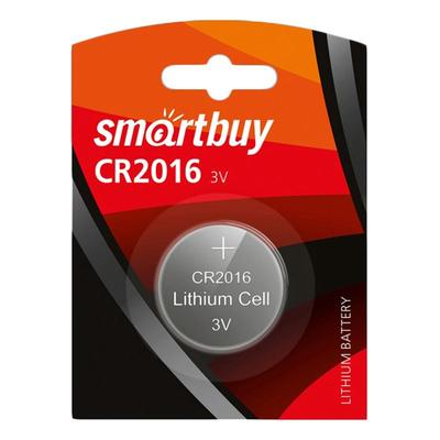 Батарейка Smartbuy таблетка CR2016