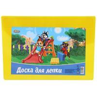 Доска для лепки №1 School Шустрики А4 желтая