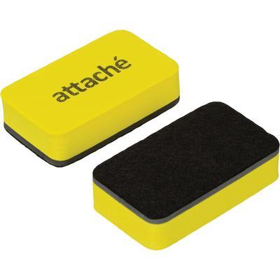 Губка-стиратель для маркерных досок Attache Economy (70x40x18 мм, 2 штуки в упаковке)