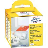 Этикет-лента Avery Zweckform AS0722440 для принтеров DYMO 70х54 мм (320 штук в рулоне)