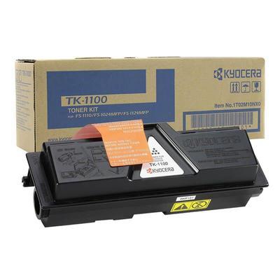 Тонер-картридж Kyocera TK-1100 черный оригинальный