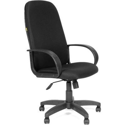 Кресло для руководителя Chairman 279 черное (ткань, пластик)