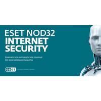 Антивирус Eset NOD32 Internet Security продление для 3 ПК на 12 месяцев (электронная лицензия, NOD32-EIS-1220(EKEY)-1-3)