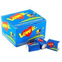 Жевательная резинка Love is Клубника-банан 91 г (20 штук в упаковке)