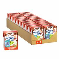 Сок детский Агуша яблоко-груша 0.2 л (18 штук в упаковке)